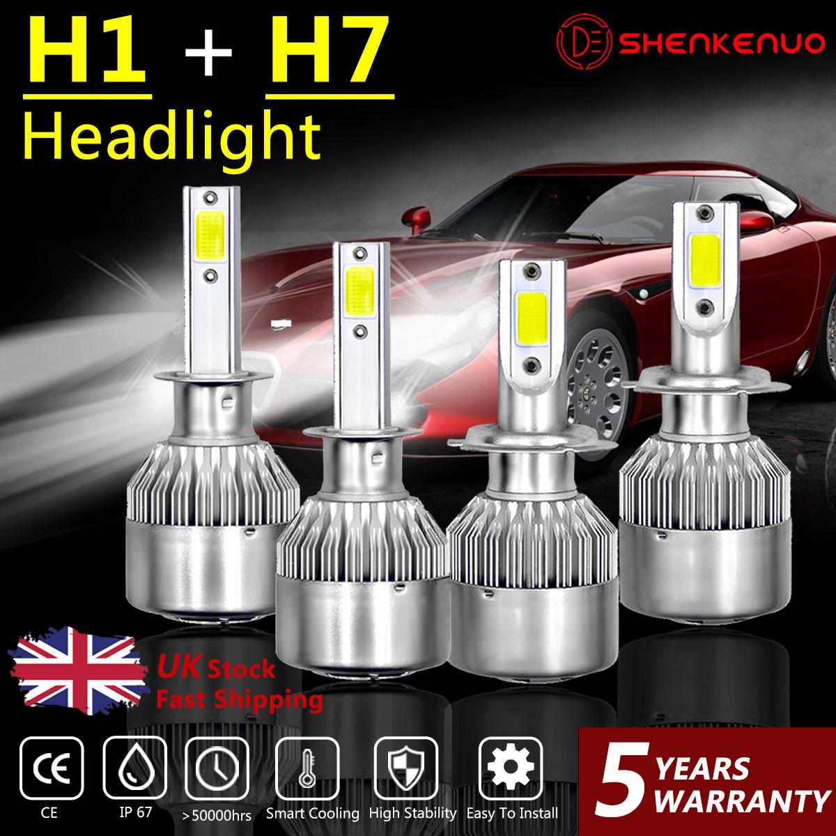 Mercedes CLK C209 55w ICE Blue Xenon HID Low Dip Beam Headlight Bulbs Pair