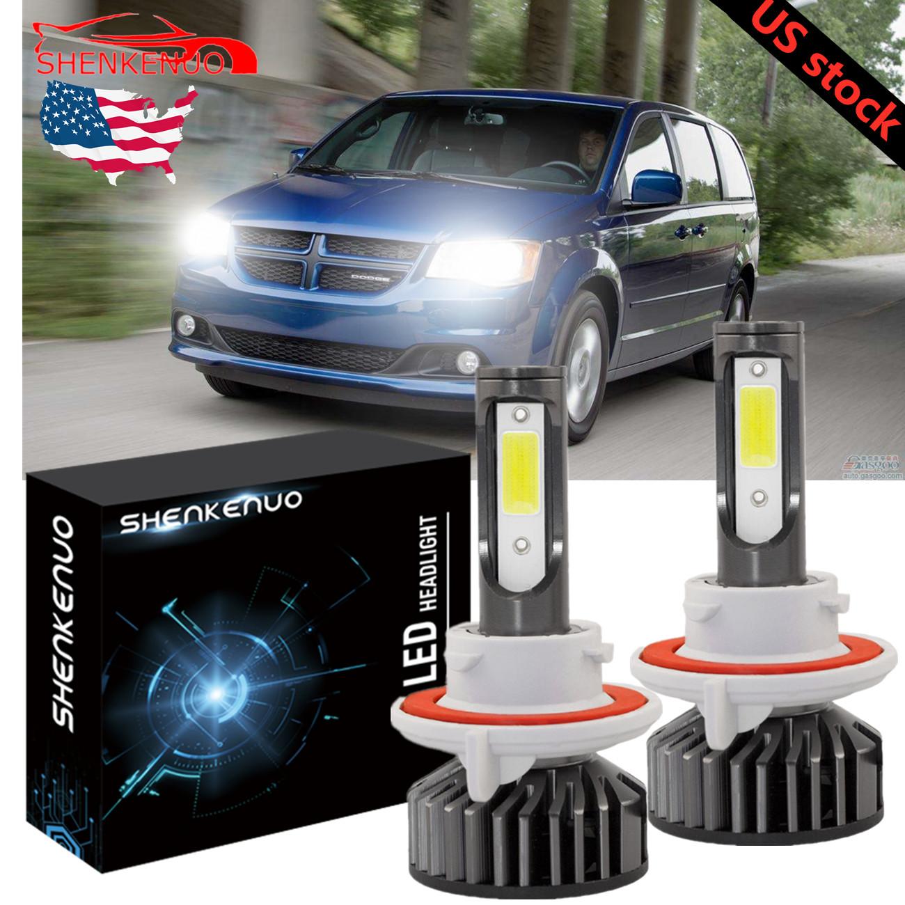 Car LED Headlight Bulbs Kit H4 9003 HB2 High Low Beam For Rodeo Sport 2001-2003