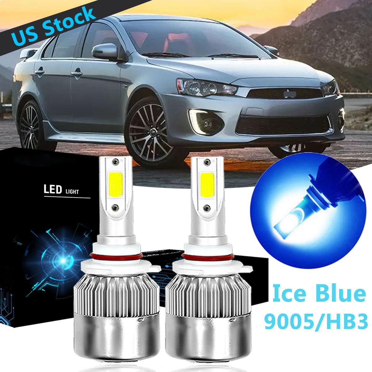 LED Headlight Kit 9005 6000K White HighBeam Bulb for MITSUBISHI Lancer 2008-2017
