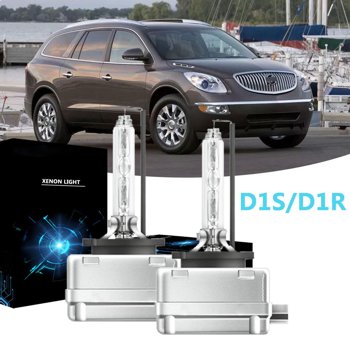 D1S D1R HID Xenon 2007-14 Cadillac Escalade ESV EXT Replacement Headlight Bulbs
