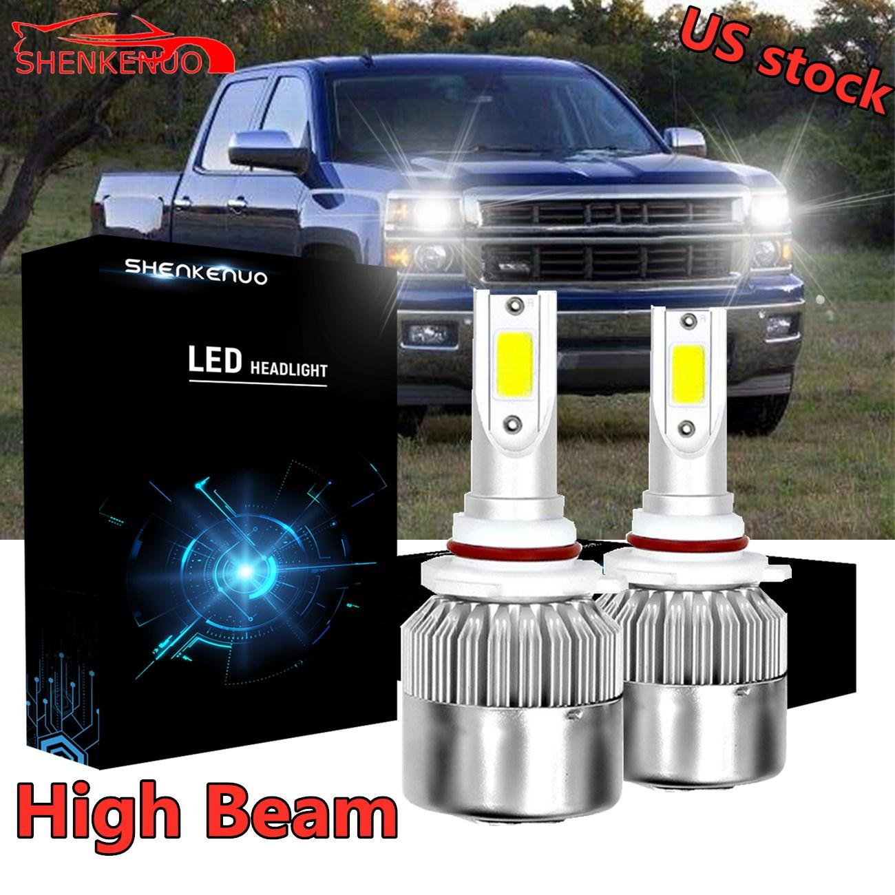 55w ICE Blue Xenon HID Upgrade Main High//Low Dip Beam Headlight Bulbs