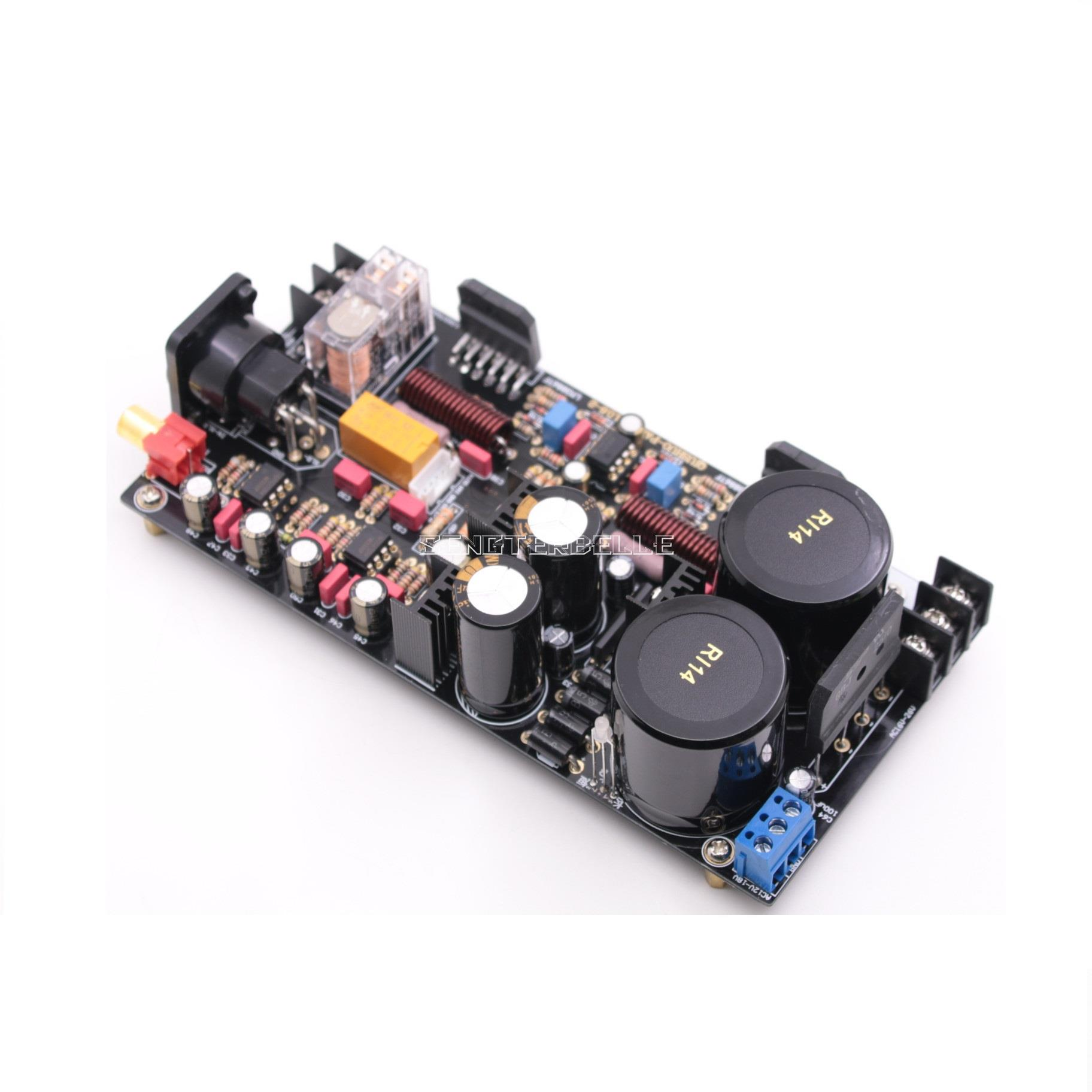 120W BTL 1.0 full balanced LM3886 Mono power amplifier//amp HL-117 No Heatsink