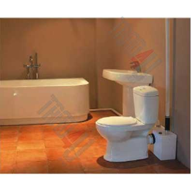 broyeur sanitaire station pompe de relevage wc 3 sur 1 pour toilette ebay. Black Bedroom Furniture Sets. Home Design Ideas
