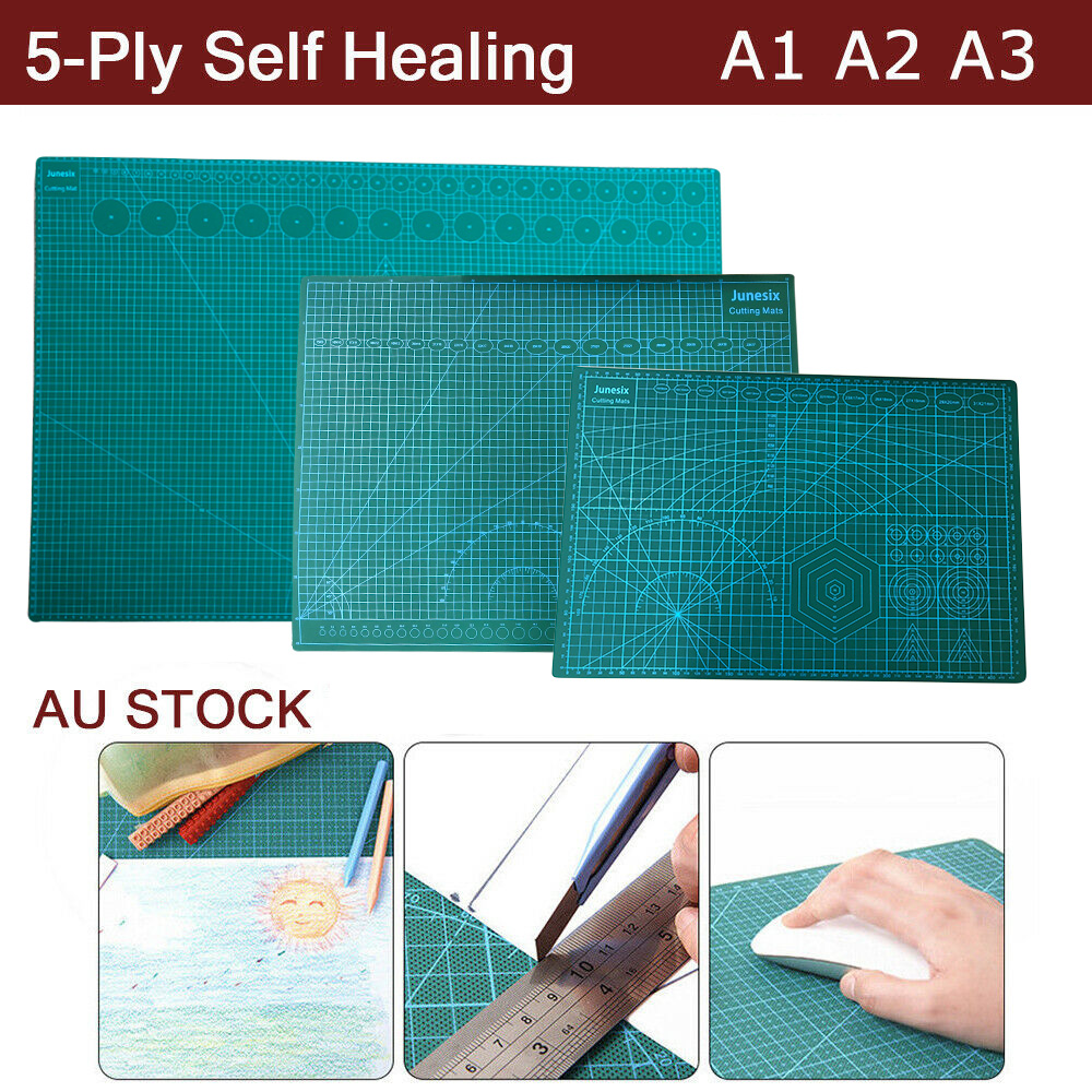 A1 A2 A3 Large Thick Self Healing Cutting Mat Double Side Art Craft Diy Au Stock Ebay