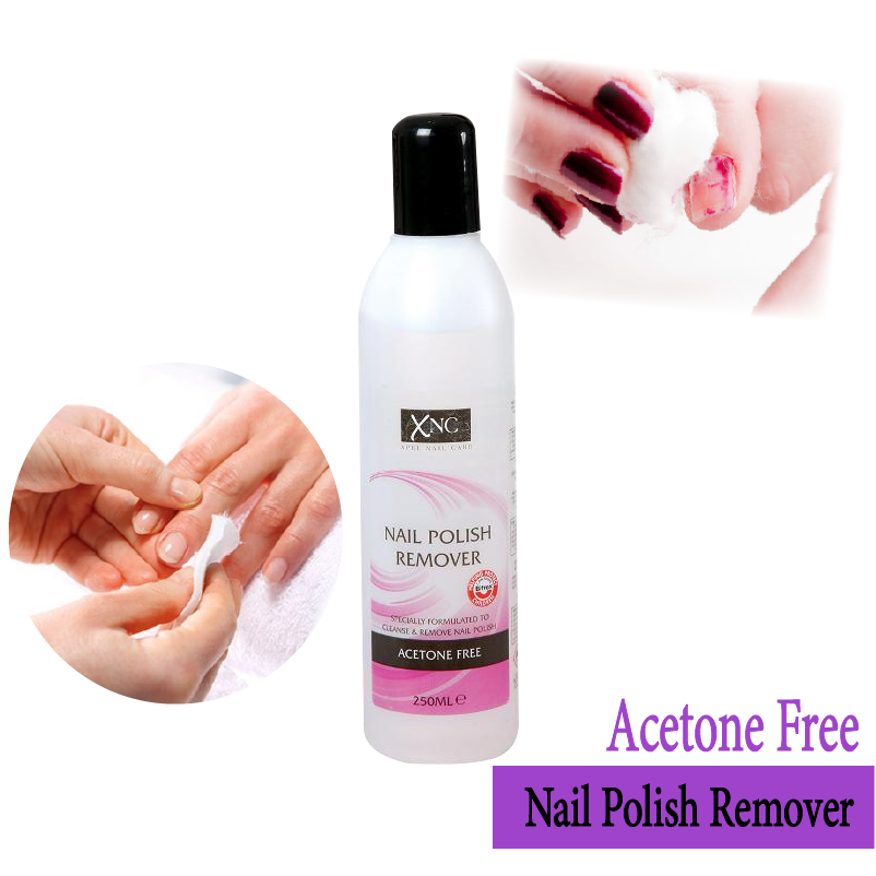 Xnc Acetone Free Nail Polish Remover Manicure Pedicure Nails 250ml Ebay