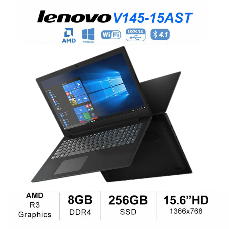 15 6 Lenovo Ideapad V145 Hd A4 9125 256gb 8gb Radeon R3 Win 10 Laptop Ebay