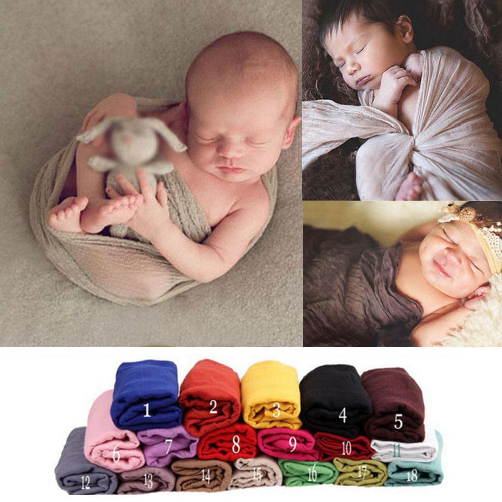 Newborn Baby Boys/&Girls Stretch Wrap Photography Photo Prop Blanket Rug Sweet