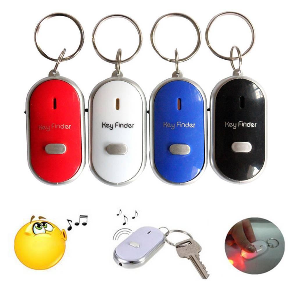 Details about LED Whistle Car Key Finder Seeker Locator Find Lost Keys  Keyring Gadgets New
