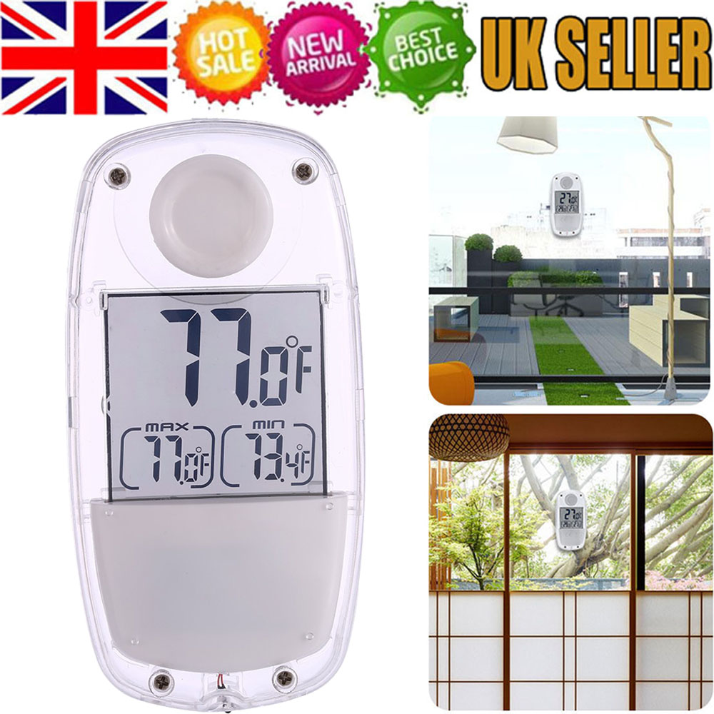 Window Thermometer Suction Cup