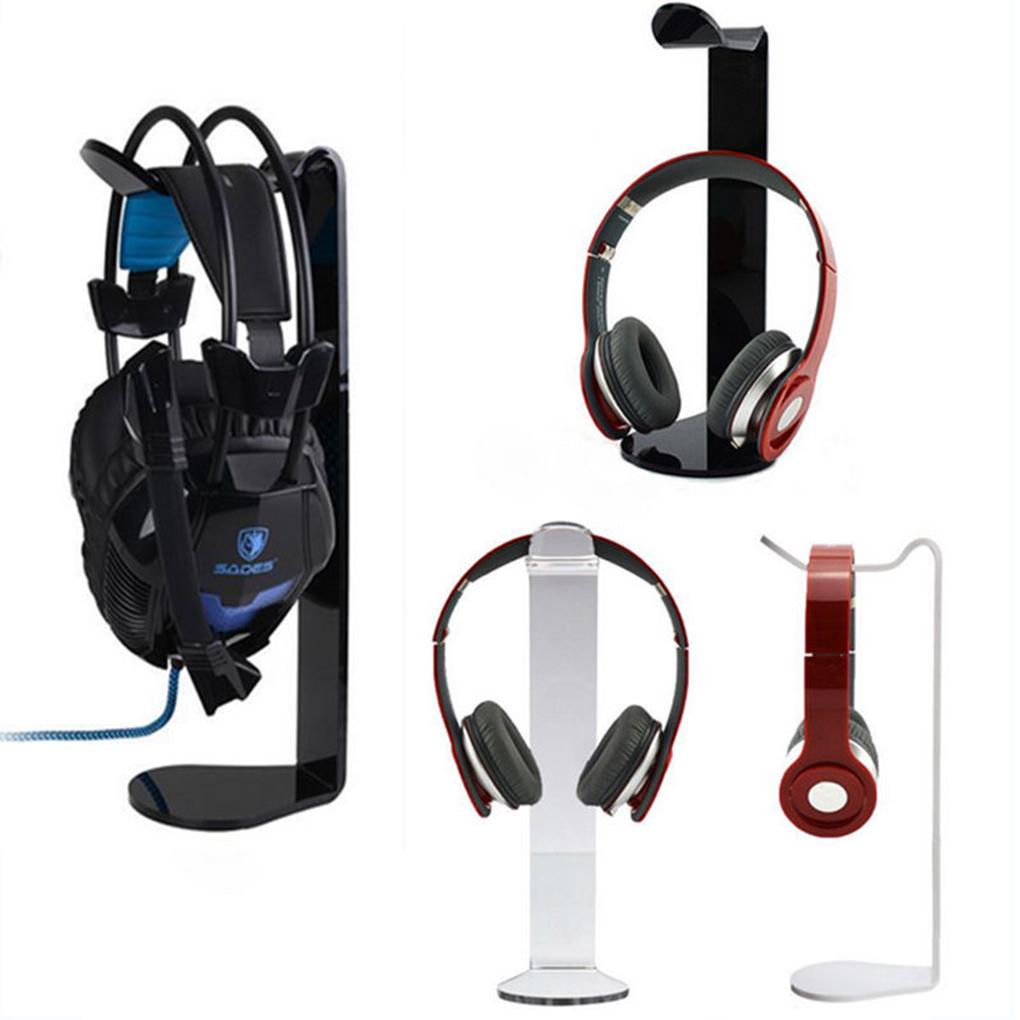 Gaming Earphone Holder Headphone Display Stand Universal Acrylic Headset Hanger