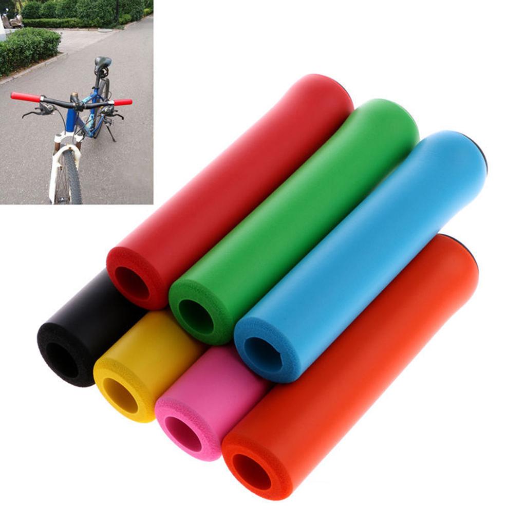 MTB Soft Foam Silicone Sponge Handle Bar Grips Cover Bike Fast shippin