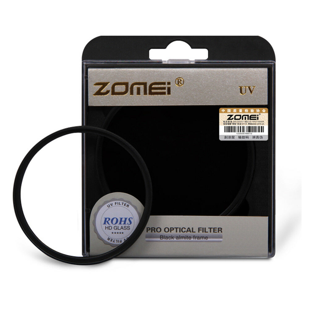Zomei 52mm UV Ultra-Violet Filter Lens Protector for Nikon Canon Sony Camera