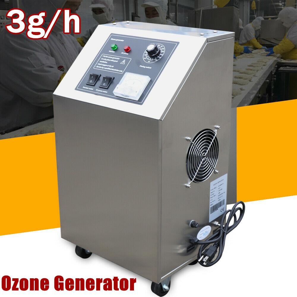 3g/h Household Ozone Generator O3 Air Purifier Deodorizer St