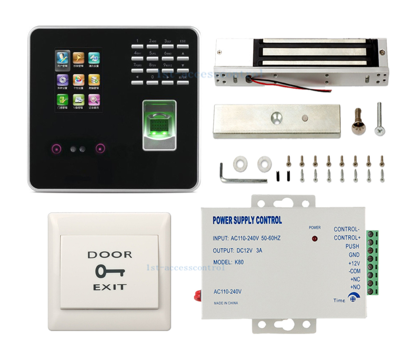 Details about ZK UF200 Web Based TCP/IP Face/Fingerprint Time Attendance  Access Control System