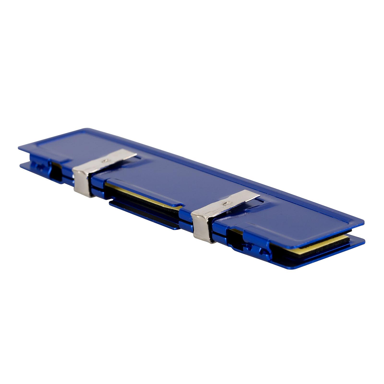 2pcs Desktop PC RAM Heatsink Cooling Clip DDR4 DDR3 DDR2 Memory Chip Aluminum