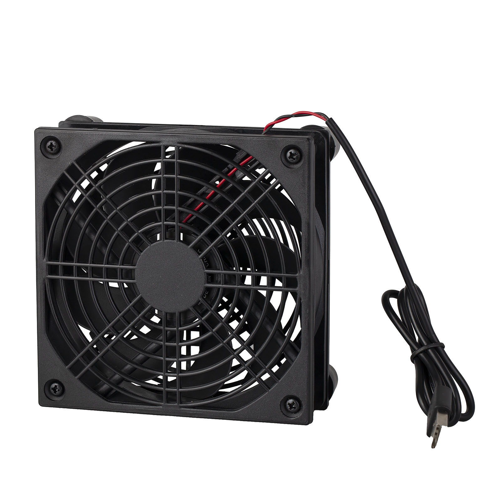 120mm USB Cooling Fan Quiet Cooler Stand 1200RPM for HDD Computer Router TV Box