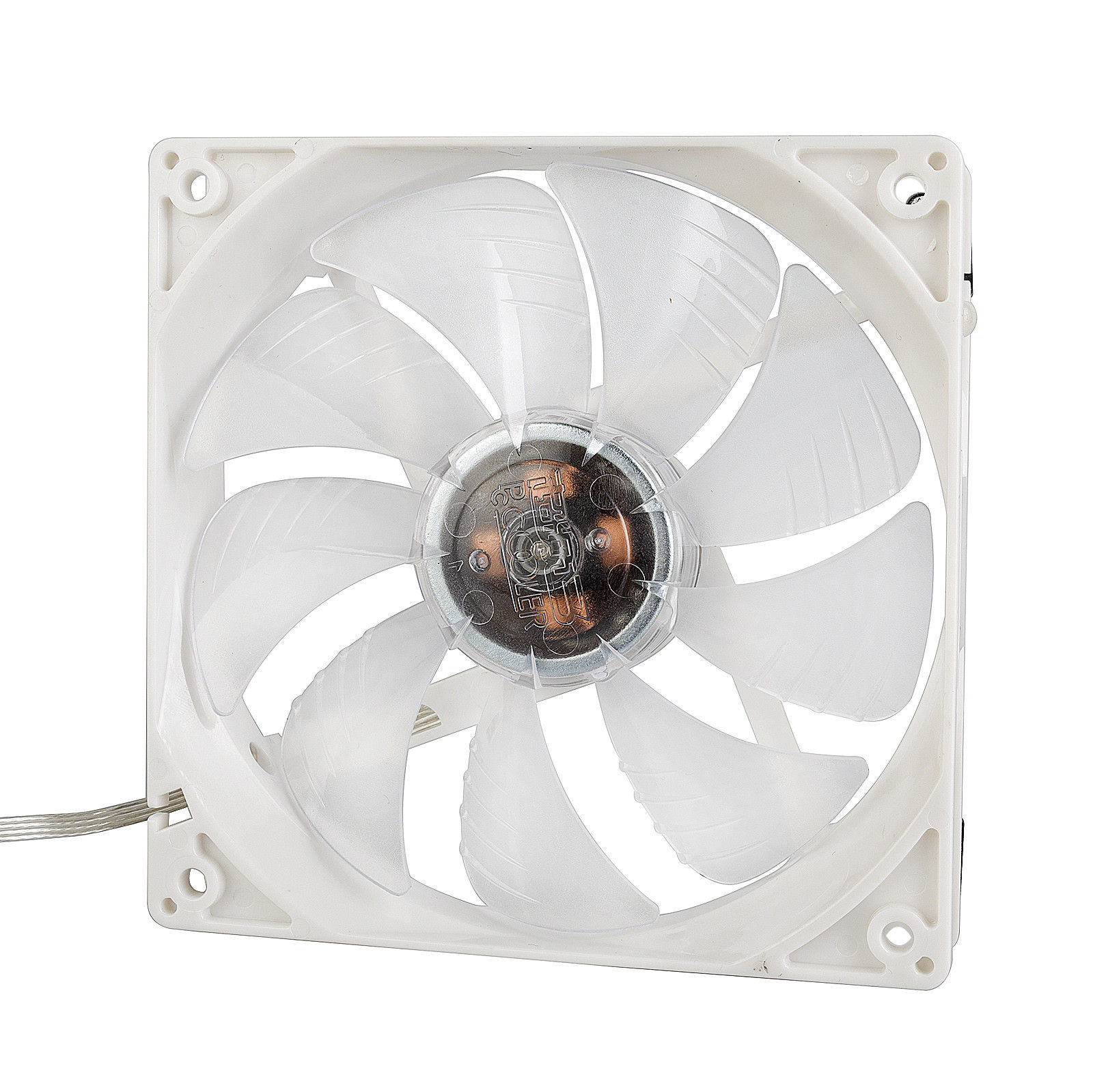 12cm Blue LED PC Computer Case Cooling Fan 1300rpm 9 Blade 12V 3pin 4pin Power