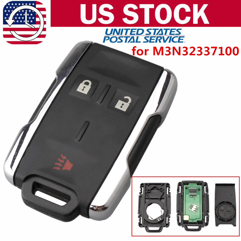 Details about for 2014 2015 2016 2017 Chevrolet Silverado Entry Remote Key  Fob M3N-32337100