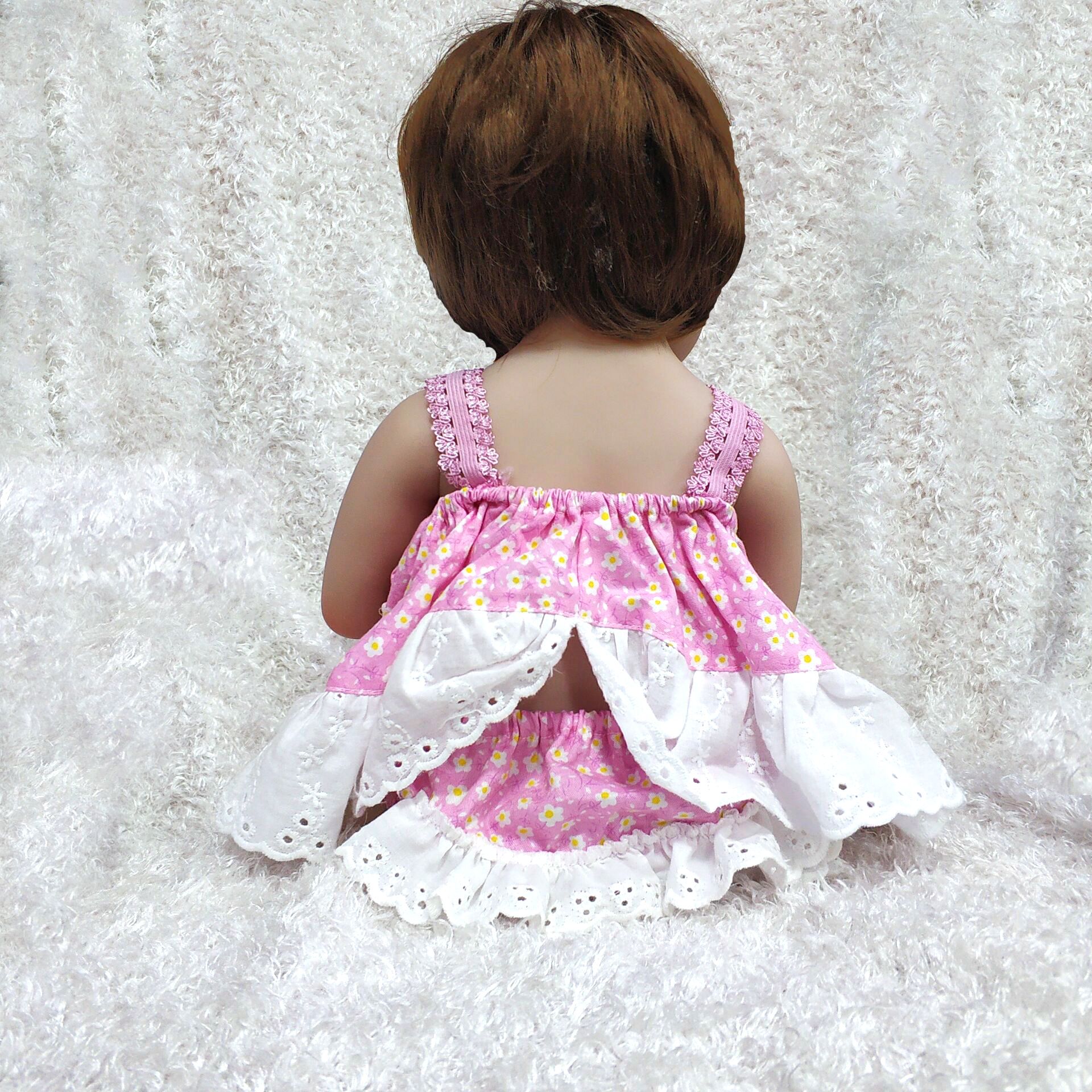 """17/"""" Reborn Baby Doll Anatomically Realistic Full Body Silicone Xmas Gifts Doll"""