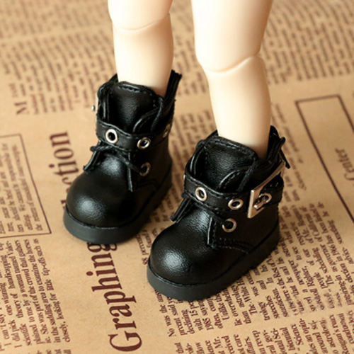 1//6 White Lace Up Shoes for LUTS Dollfie DOD SD Dolls Clothing Accessories