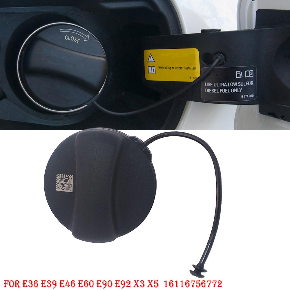Fuel Gas Tank Filler Cap 16116756772 For BMW E39 E46 E60 E90 E92 X5 MINI Cooper