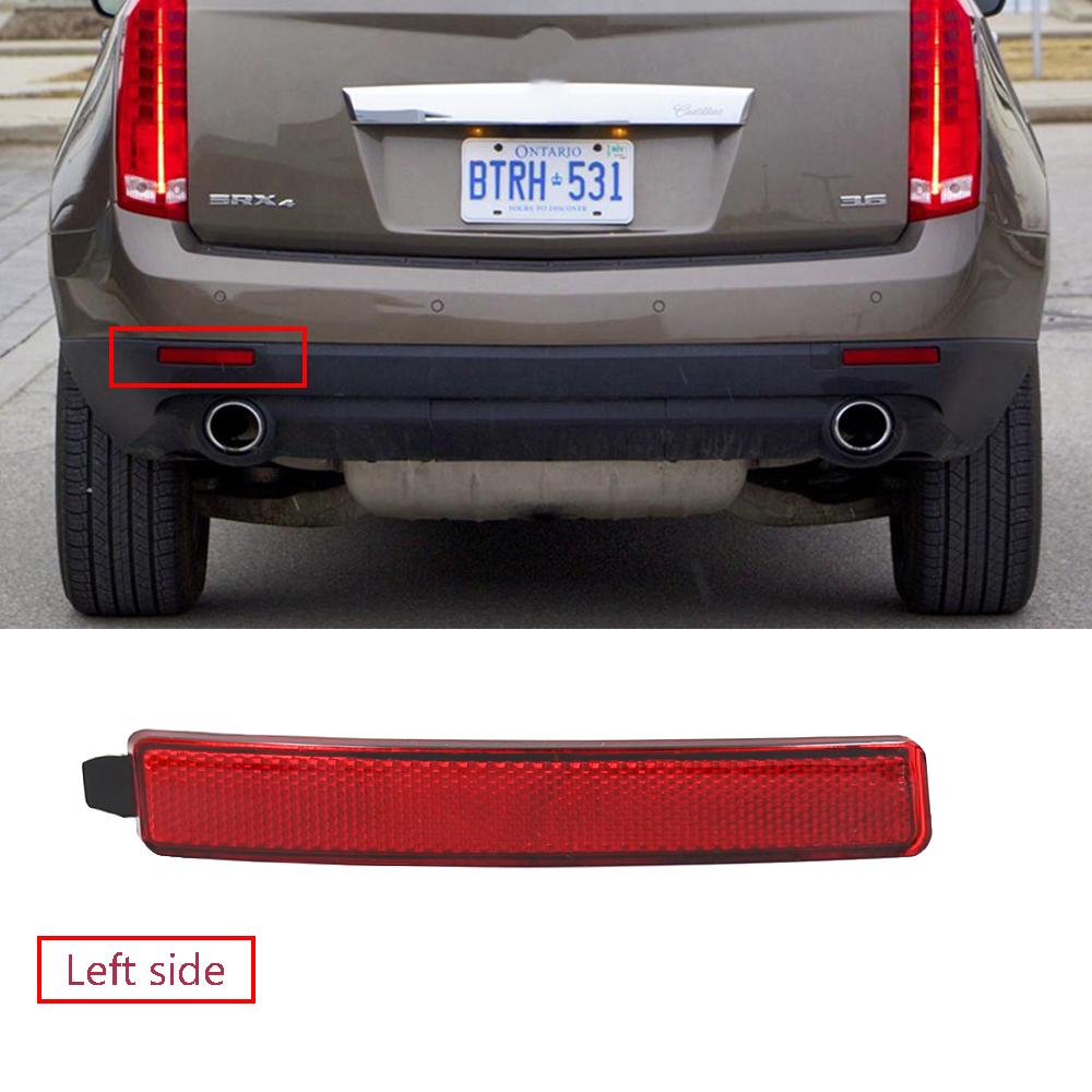 Left Rear Bumper Reflector For 2007-2012 GMC Acadia 2009-12 Traverse 2010-16 SRX