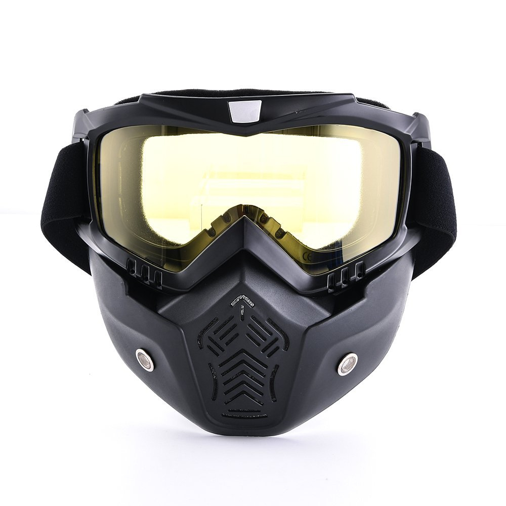Motorcycle Face Mask Goggles Motorcross Goggles Ski Riding ATV Dirt Bike Gear