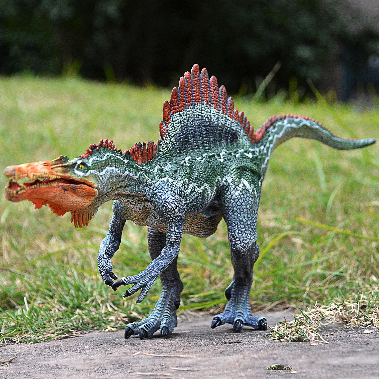 Jurassic Spinosaurus Toy Figure Realistic Dinosaur Model ...