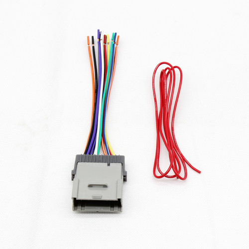 Car Replacement Stereo Radio Wiring Harness Connector For GM Chevy ... dodge ram trailer wiring color code eBay