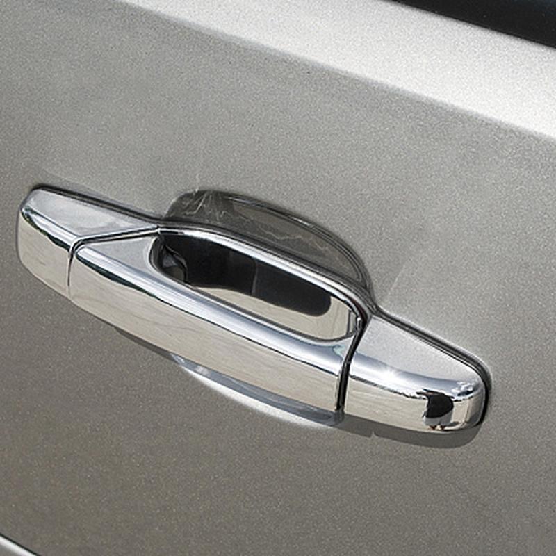 Fit for 2007-2013 CADILLAC Escalade//ESV//EXT 4 Chrome handle cover W//O PSG Key