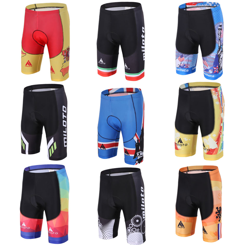 Merida Heat Bike Bicycle Shorts Compression 3D Padded Men/'s Cycling Bib Shorts