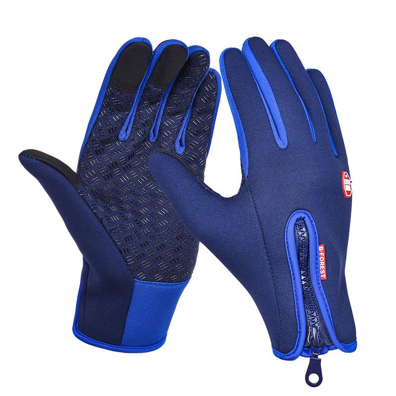 2016 MERIDA Waterproof Winter Cycling Bike Bicycle Warm Full Finger Gloves M-XL