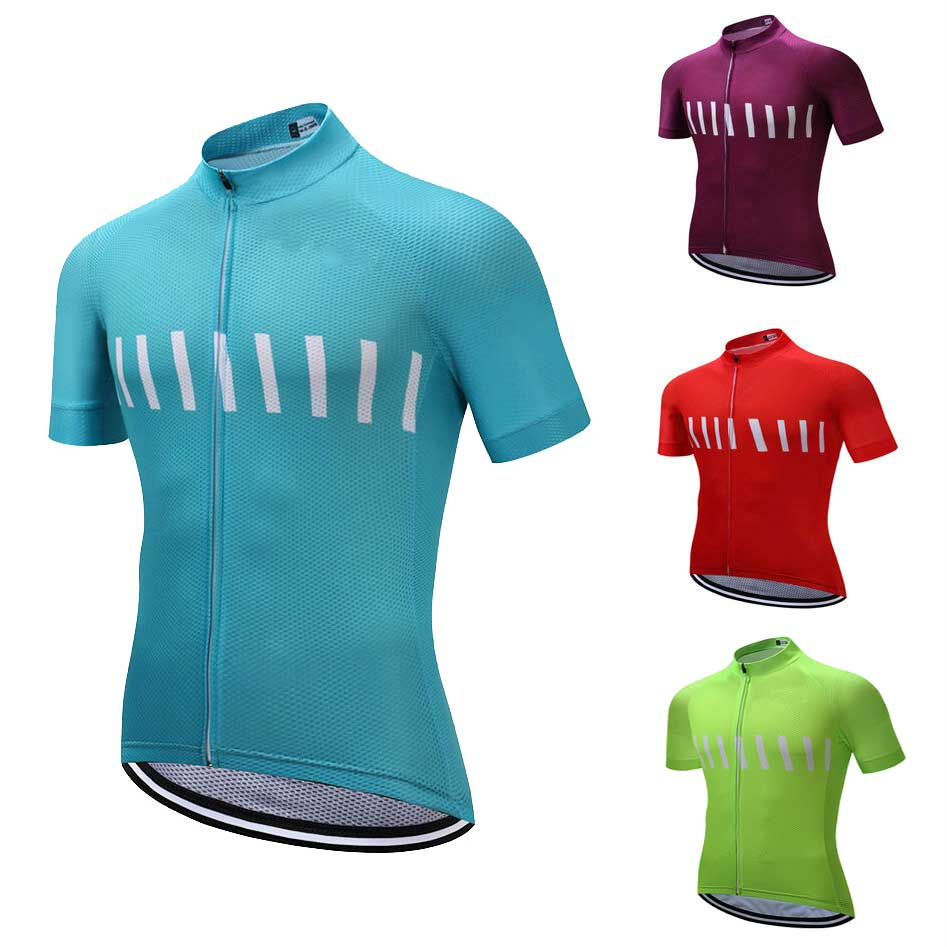 Men/'s Novelty Cycling Jersey Tops Green Yellow Red Bike Jersey Shirt Reflective