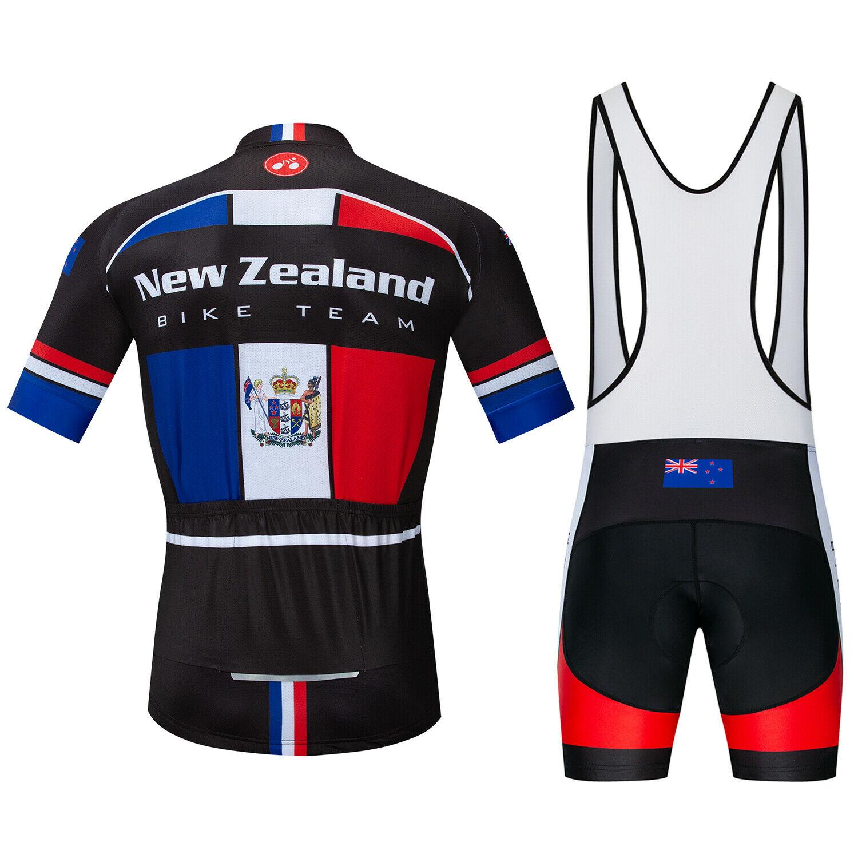2020 Countries Team Cycling Bib Kit Men/'s Cycle Jersey and Bib Shorts Set S-5XL