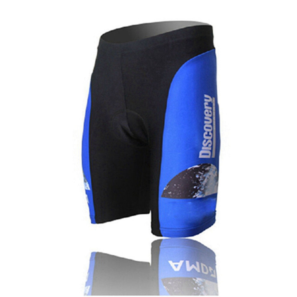 Discovery Channel Biking Shorts Bib Knickers Men/'s Padded Bicycle Bibs Shorts