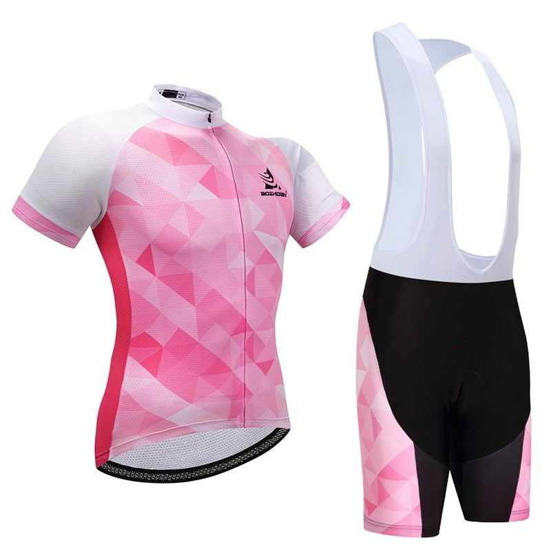 Pants Padded Set Bib Women/'s  Cycling Kits Bicycle Clothing Bike Cycle Jersey