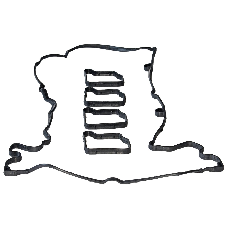 Motorventildeckeldichtungsscheiben-Unterlegscheiben-Kit 2710160921 f/ür W203 W204 W211 S203 S204 Ventildeckeldichtung