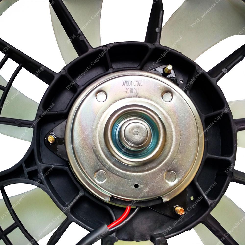 Dual Radiator AC Condenser Cooling Fan fits Toyota Sienna Lexus RX350 10-14