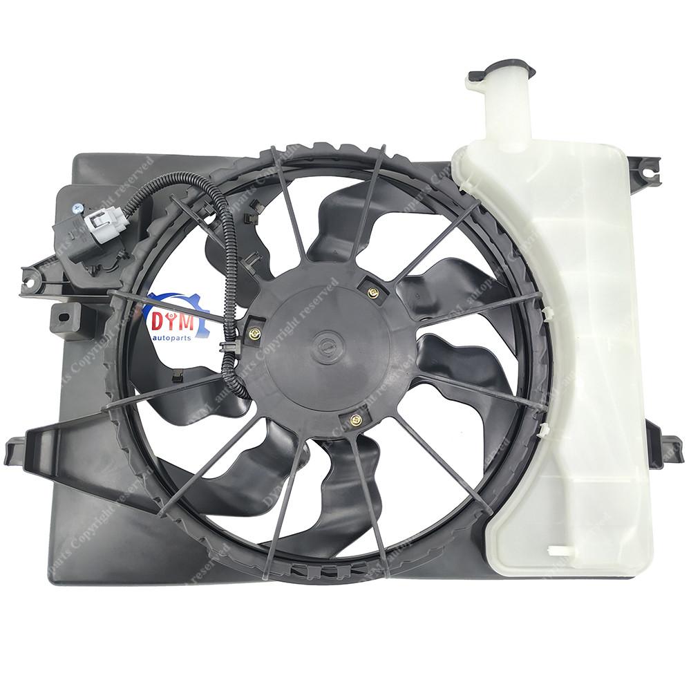 Radiator And Condenser Fan For Hyundai Kia Fits Elantra Forte HY3115152