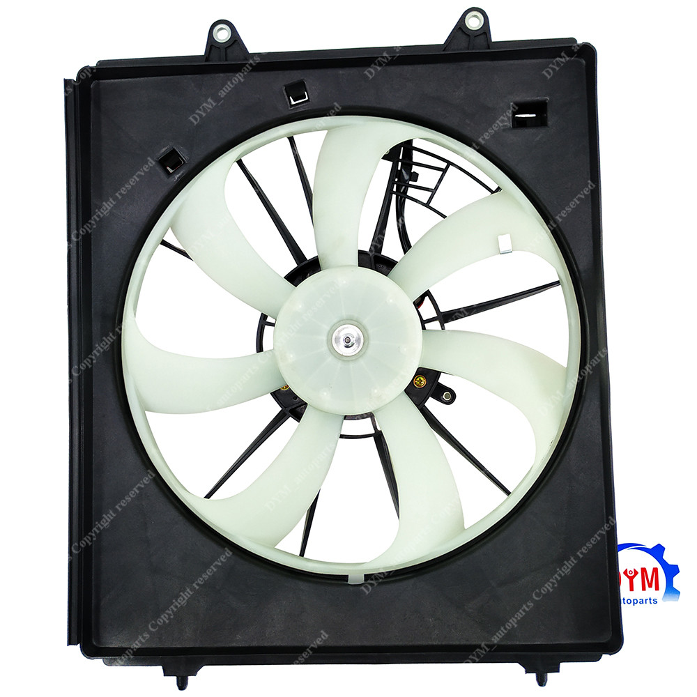 Radiator Cooling Fan w// A//C Condenser Fan For 2011-2016 Honda Odyssey LH /& RH