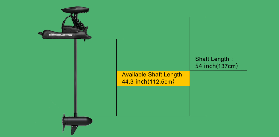 Details about Haswing 12v 55lbs 54