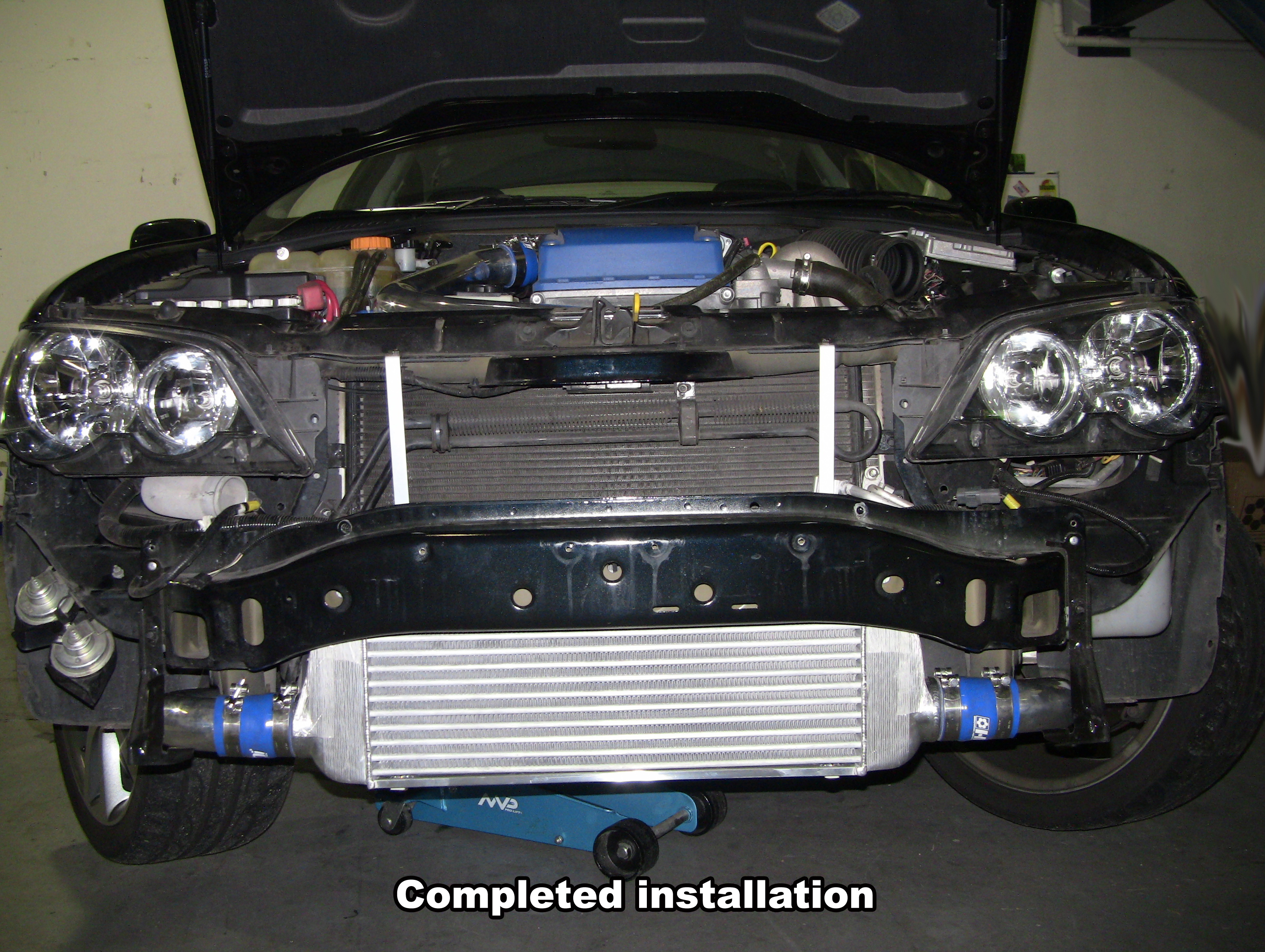 Details about GENUINE HDi GT2 SPEC intercooler kit Ford XR6 BA/BF FALCON  TYPHOON FPV F6 G6ET
