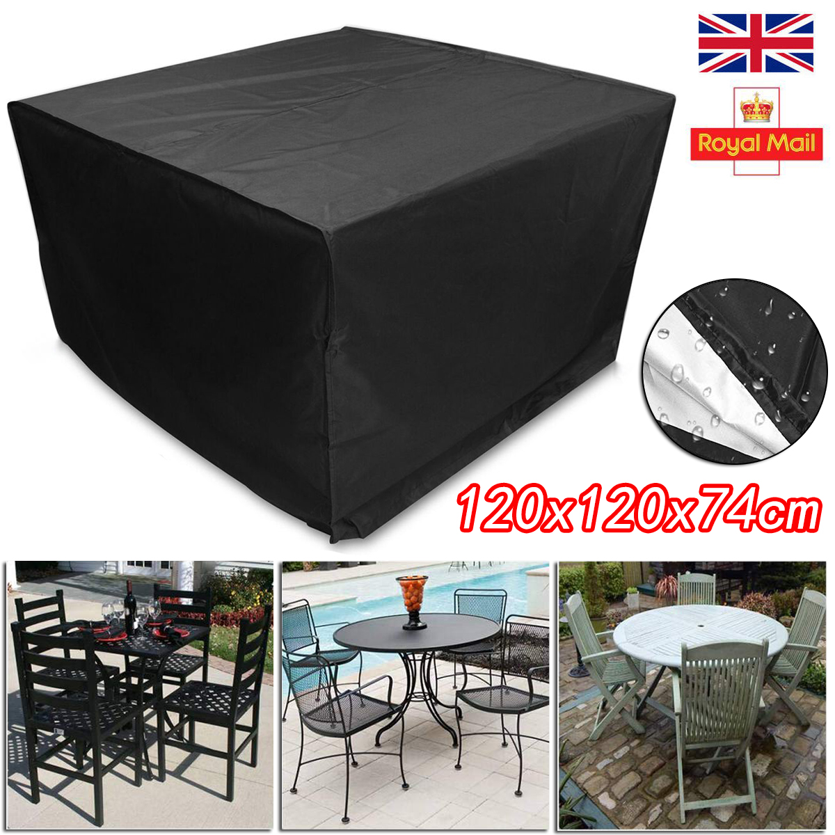 Waterproof Furniture Cover Rattan Cube