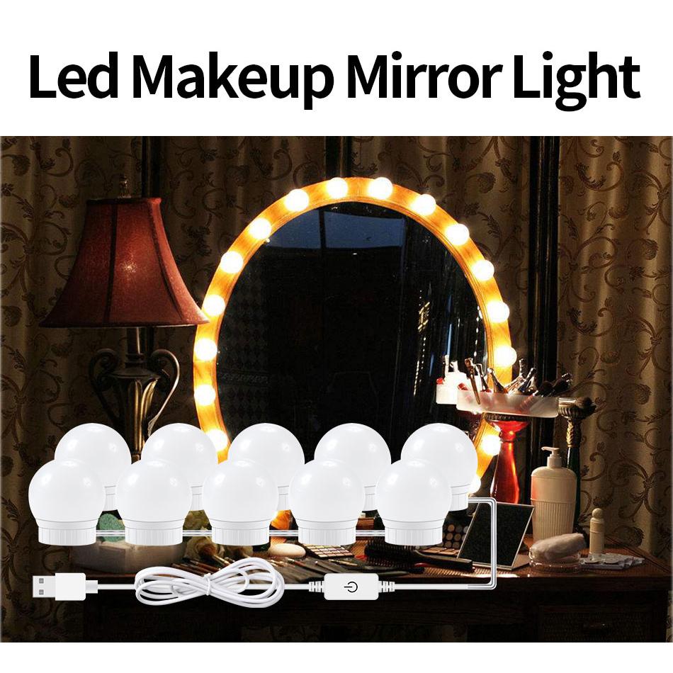 10x Hollywood Led Bulbs Vanity Makeup