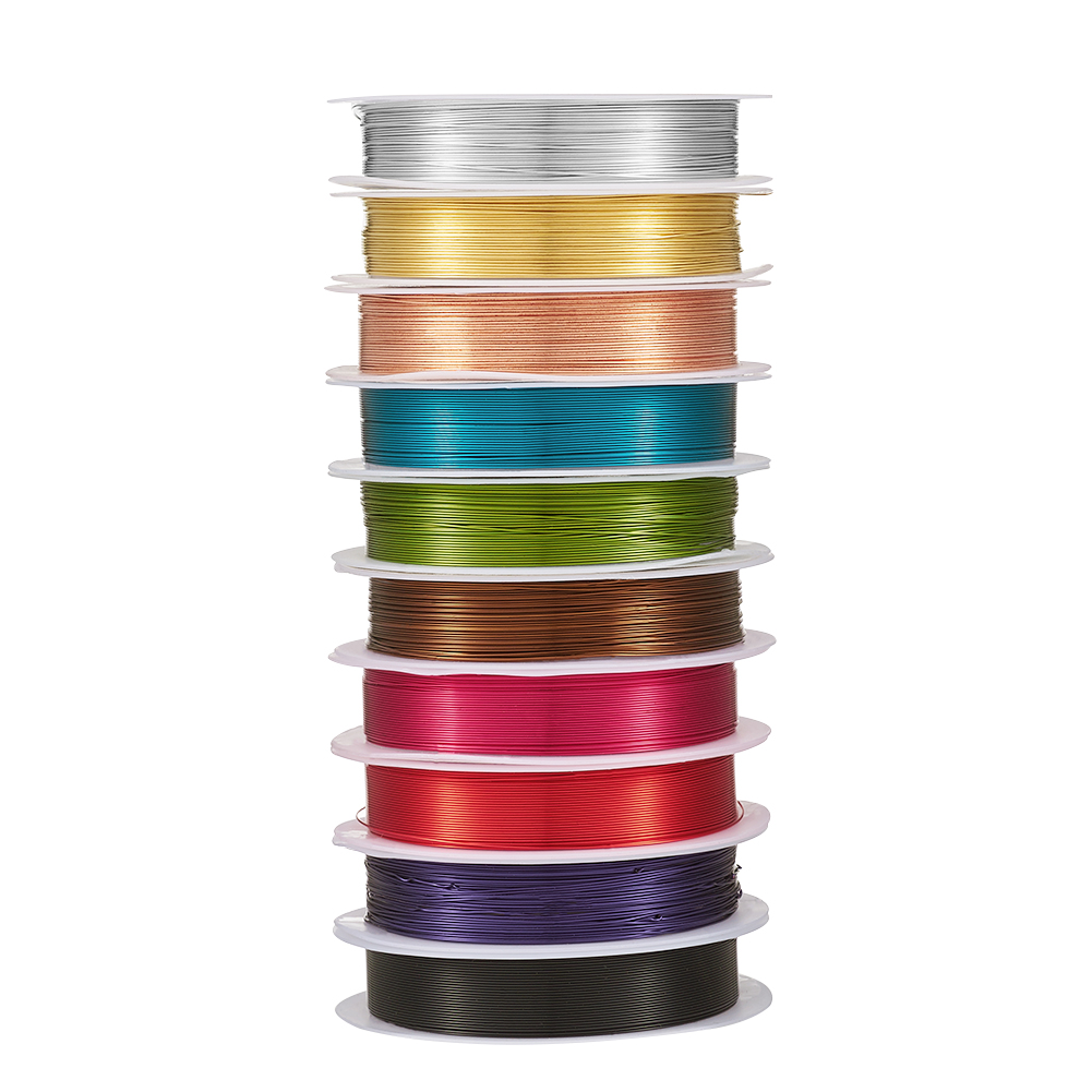 Jewellery Making 34 Gauge Beading Wire Craft Factory 0.22mm x 21.9m//24 yrds Gold