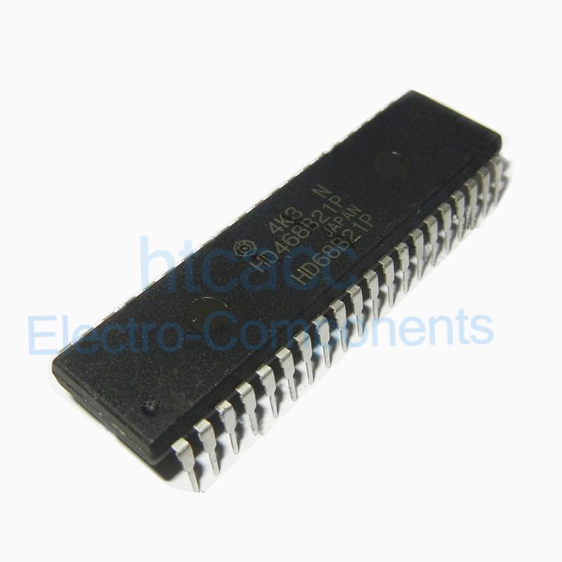 1 x MC68B21P MC68B21 Peripheral Interface Adapters DIP-40