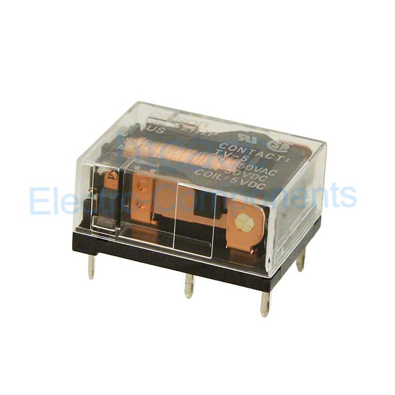 G6C-2117P-US-SV 12VDC Power Relay 7A 12VDC 6 Pins x 2pcs