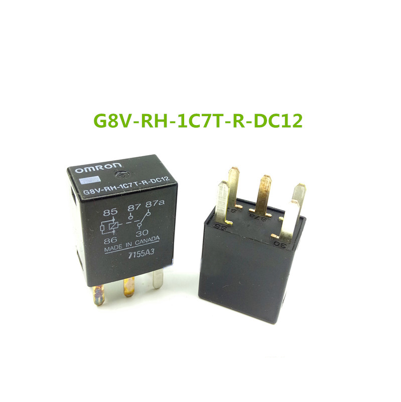 G8V-RH-1C7T-R-DC12 Omron General Purpose Relay 5 Pins 12VDC New