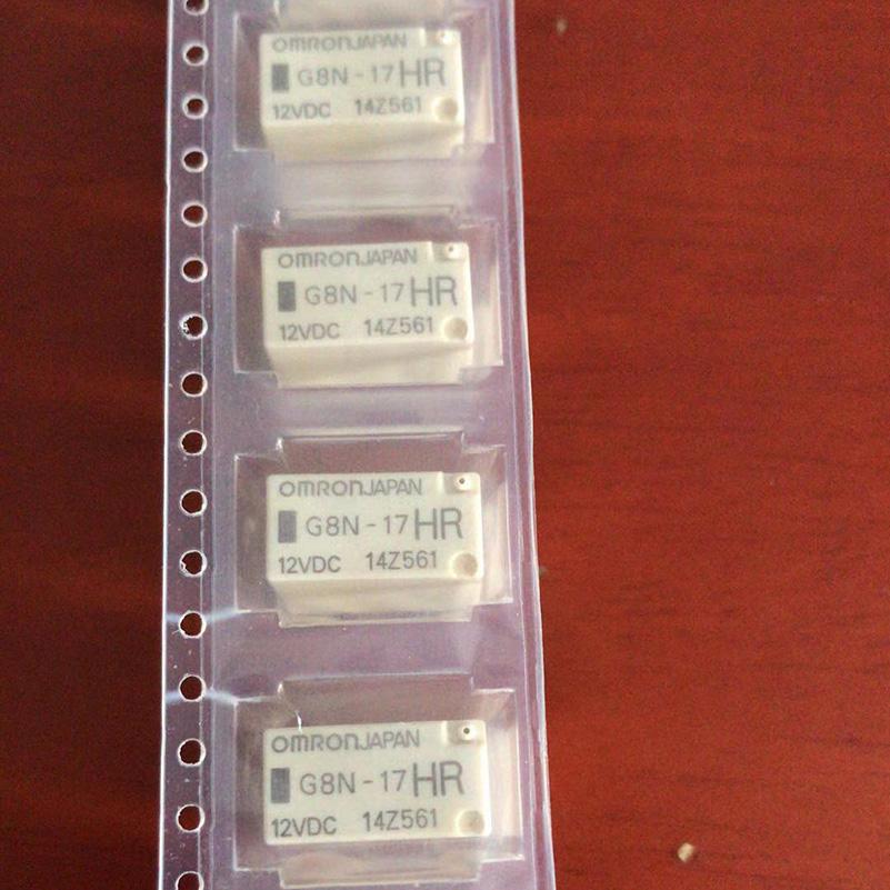OMRON G8N-17HR 12VDC G8N-17HR-TRD Automotive Relay 5 Pins x 1PC