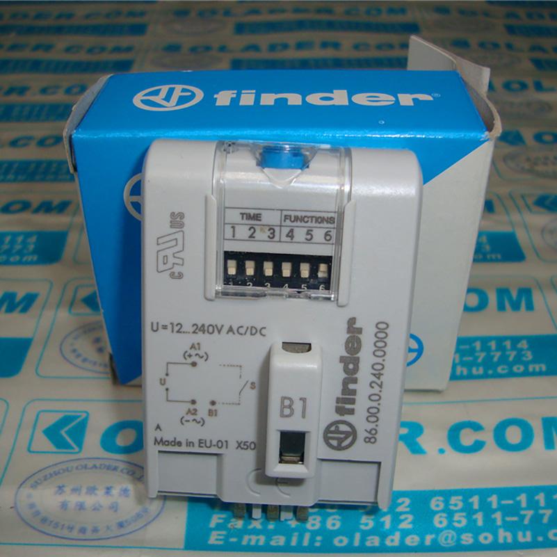 Finder 86.10.0.024 Multifunction Time Module Timer Module NEW OVP